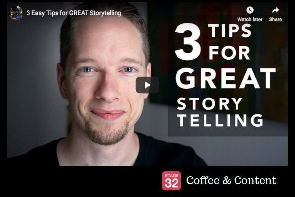 Coffee & Content -  3 Easy Tips for Great Storytelling & Film Finance Experts on Netflix and Amazon
