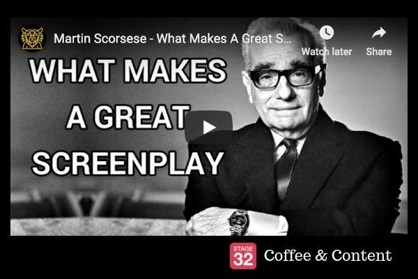 Martin Scorsese on What Makes a Great Screenplay & Richard Linklater on the Director/Actor Relationship
