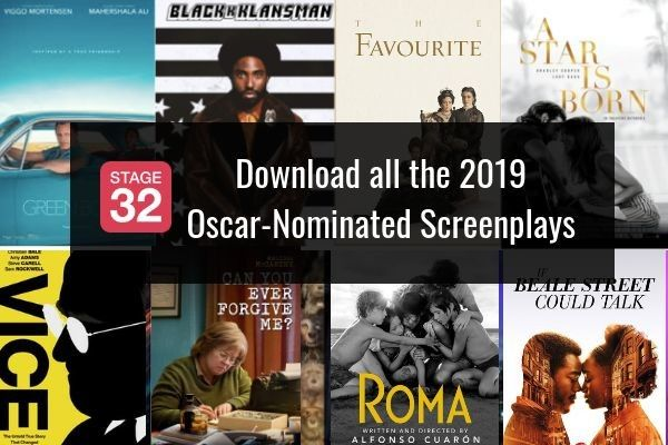 Coffee & Content - Download All the 2019 Oscar Nominated Screenplays!