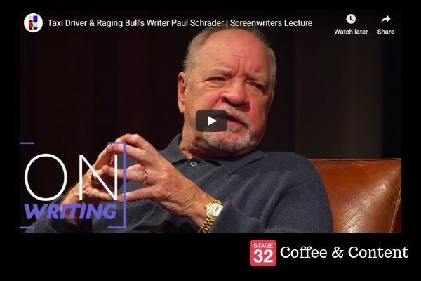 Coffee & Content - Paul Schrader's Screenwriting Lecture & 7 Simple and Beautiful Editing Tips