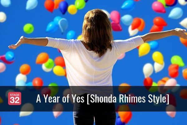 A Year of Yes [Shonda Rhimes Style]