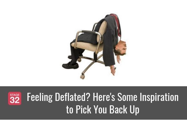 Feeling Deflated? Here's Some Inspiration to Pick You Back Up