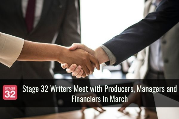 Stage 32 Writers Meet with Producers, Managers, and Financiers in March