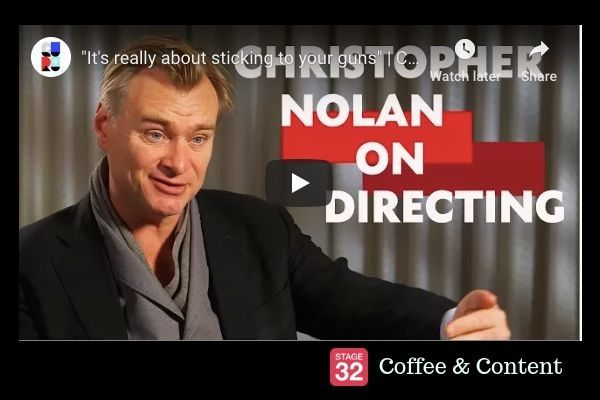 Coffee & Content - Christopher Nolan on Directing & Kate Winslet Shares Her Acting Secrets