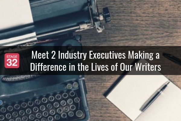 Meet 2 Industry Executives Making a Difference in the Lives of Our Writers