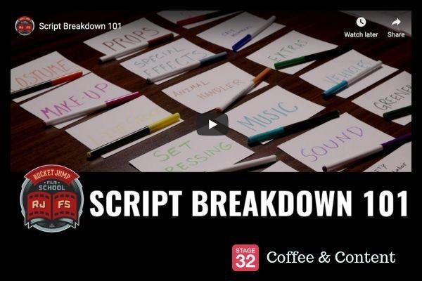 Coffee & Content -  Script Breakdown 101 & Filmmaker Richard Linklater on Patience