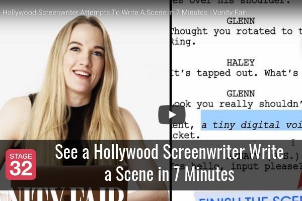 See a Hollywood Screenwriter Write a Scene in 7 Minutes