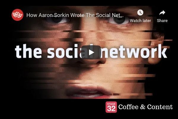 Coffee & Content - How Aaron Sorkin Wrote The Social Network & Michelle Williams and Patricia Clarkson on Acting