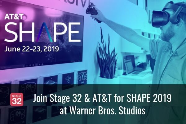 Join us at Warner Bros. Studios for AT&T SHAPE 2019
