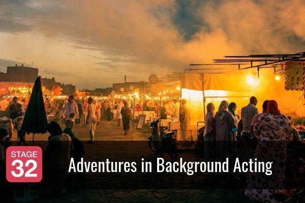 Adventures in Background Acting