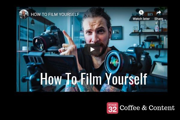 Coffee & Content - How to Film Yourself & How to Film and Edit on Your Smartphone
