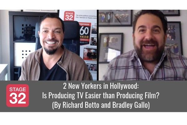 2 New Yorkers in Hollywood: Is Producing TV Easier than Producing Film?