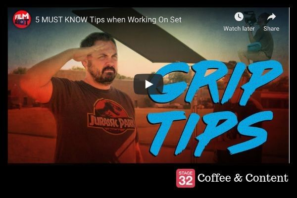 Coffee & Content - 5 Must Know Tips When Working on Set & A Day in the Life of a Production Assistant