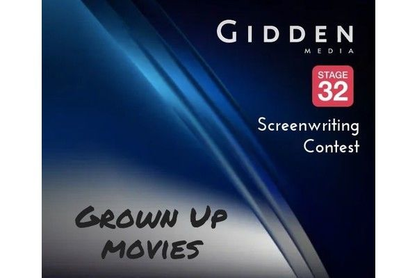 """""""Grown Up"""" Scripts Wanted for Gidden Media + Stage 32 Screenwriting Contest"""