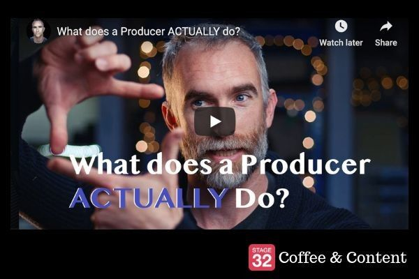 Coffee & Content - What does a Producer ACTUALLY do? & Advice for 1st time Producers
