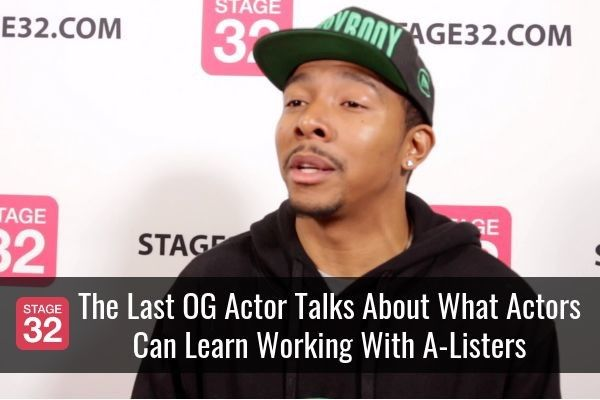 """""""The Last OG"""" Actor Talks About What Actors Can Learn Working With A-Listers"""