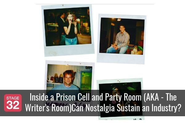 Inside a Prison Cell and Party Room (AKA - The Writer's Room)