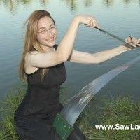 Natalia 'Saw Lady' Paruz
