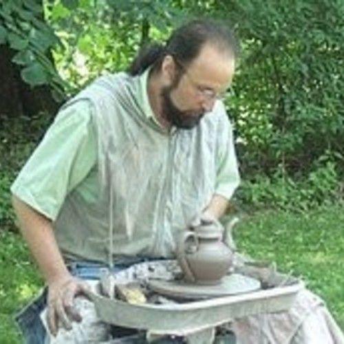 Pied Potter Hamelin Redware