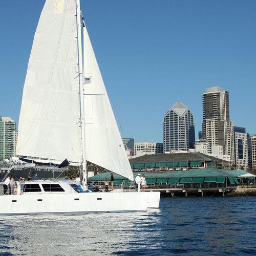 Adventuress Catamaran Sailing