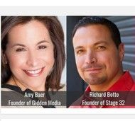 Amy Baer, President Gidden Media - Richard Botto, Founder Stage 32