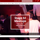 Come Together! Introducing the New Stage 32 Meetup Section!