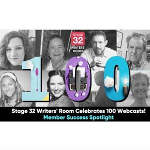 Writers' Room 100th Webcast Celebration Panelist & Moderators