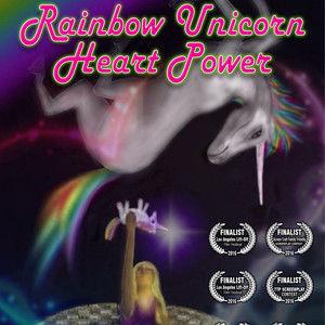 Rainbow Unicorn Heart Power