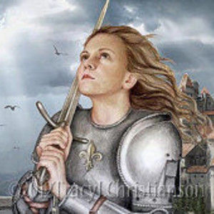 Holy Fire, the Story of Jehanne of Arc