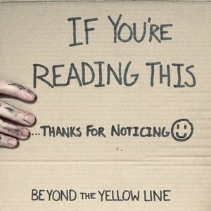 Beyond the Yellow Line