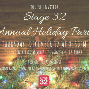 Stage 32 Los Angeles Holiday Party
