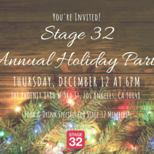 Stage 32 Los Angeles Holiday Party Meet Up