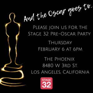 Stage 32 Pre-Oscar Party!