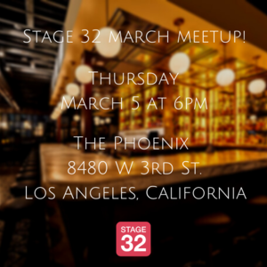 Stage 32 March Meetup!