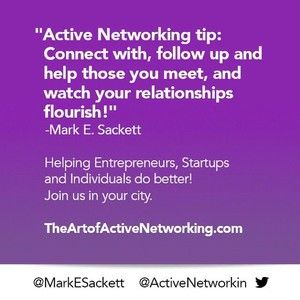 THE ART OF ACTIVE NETWORKING, SILICON VALLEY January 25
