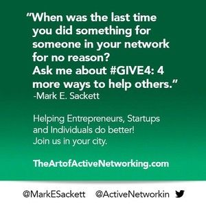 THE ART OF ACTIVE NETWORKING SILICON VALLEY February 22
