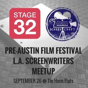 Stage 32 & ScreenCraft Pre-AFF LA Screenwriters Meetup