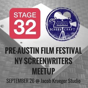 Stage 32 & ScreenCraft Pre-AFF NY Screenwriters Meetup