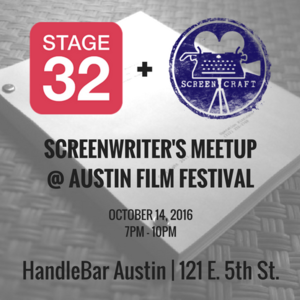 Stage 32 & ScreenCraft Meetup @ AFF (Official)