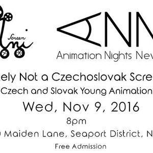 Definitely Not a Czechoslovak Screening!