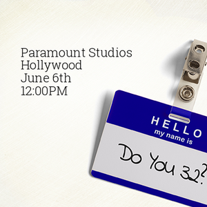 Nothing beats Paramount Studios to talk shop