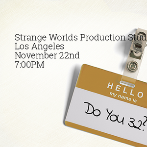 FREE Scene Study Class at Strange Worlds!
