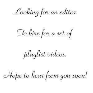 Editor for Playlist Videos