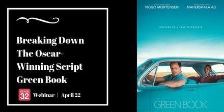 Breaking Down the Oscar-Winning Script Green Book - Stage 32