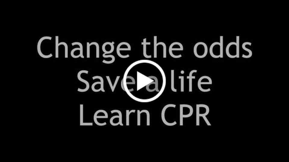Public Service Announcement to promote CPR training.