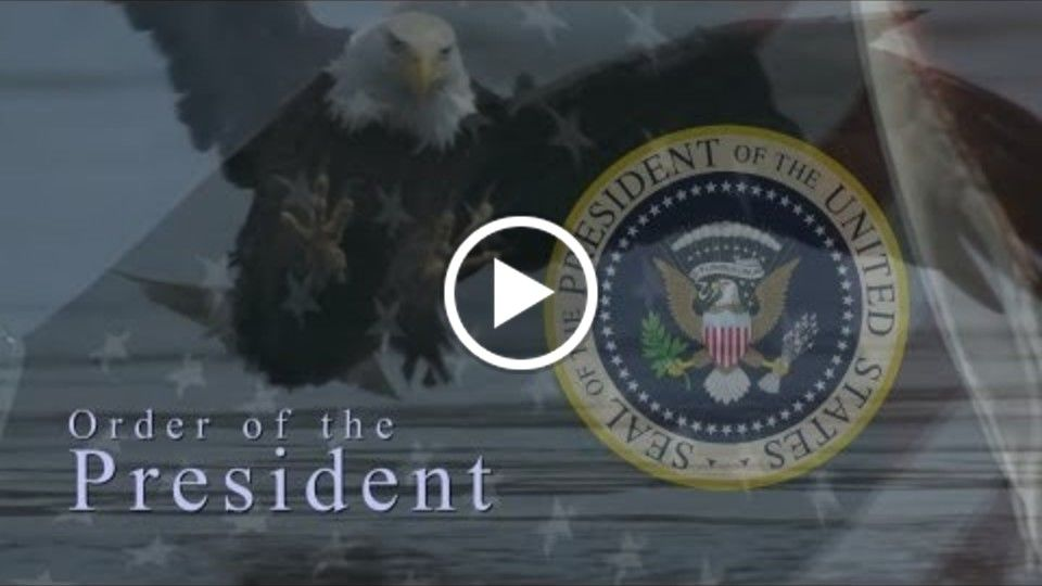 Order of the President teaser trailer 1