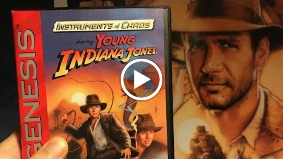 Can James Rolfe and Mike Matei survive Young Indiana Jones for Sega Genesis!?