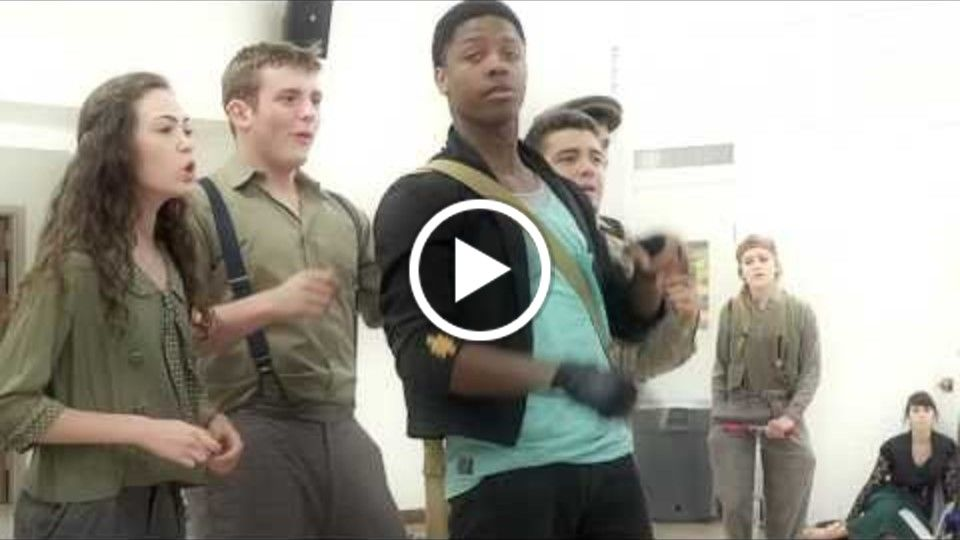 Stone Soup - a New Musical - Rehearsal / Meet the Summer Stock 2014 Cast - Vincent
