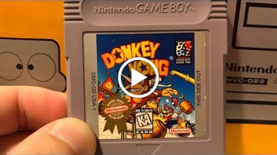 Playing Donkey Kong for Game Boy with James Rolfe and Mike Matei