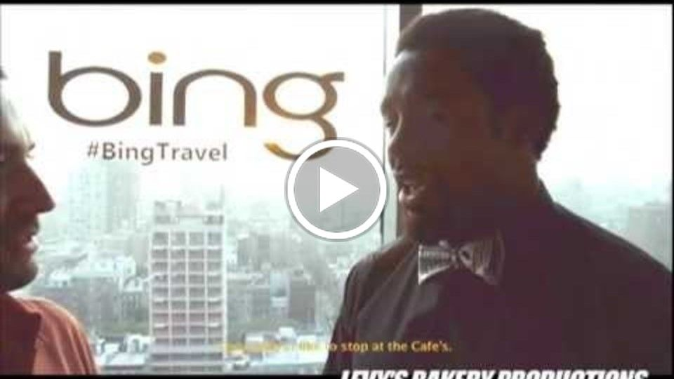 Bing.com Presents An Evening With Dhani Jones On How To Use Bing For Travel Purposes